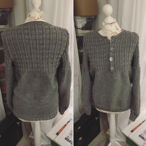 Makerist - Pullover für meinen Mann - Strickprojekte - 1
