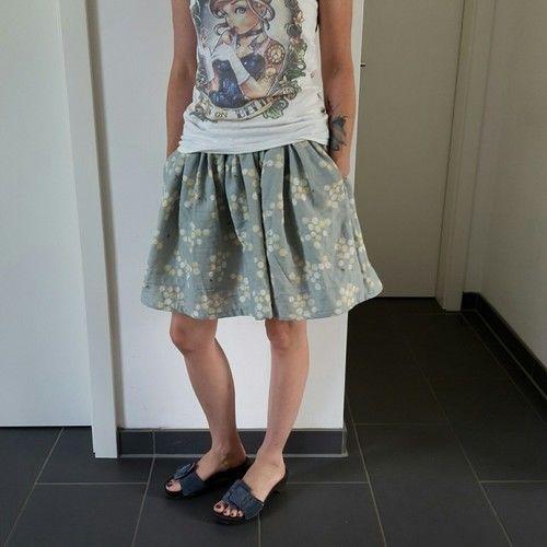 Makerist - Rock Lady ShuShu in blau - Nähprojekte - 1