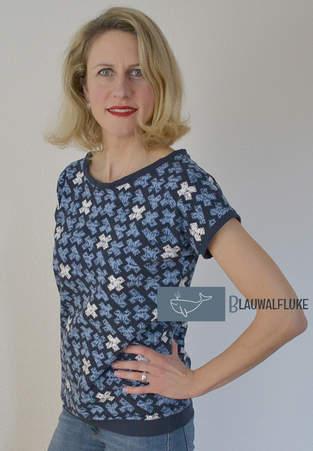 Makerist - Hummelhonig Damenshirt Rom Gr. 38 aus Jersey - 1