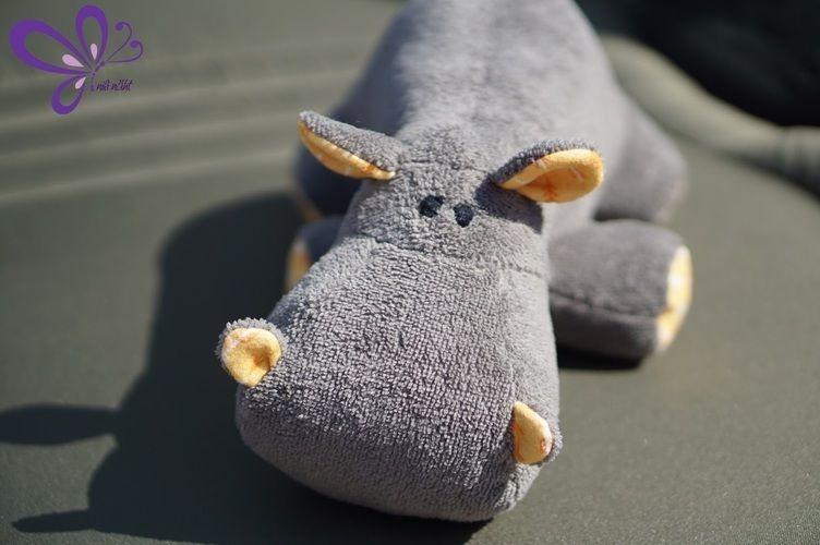 Makerist - Nilpferd - grau, kuschelig, zum Anbeißen süß - Nähprojekte - 1