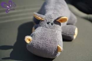 Makerist - Nilpferd - grau, kuschelig, zum Anbeißen süß - 1