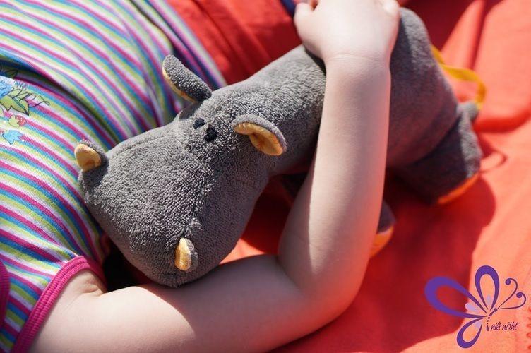 Makerist - Nilpferd - grau, kuschelig, zum Anbeißen süß - Nähprojekte - 2