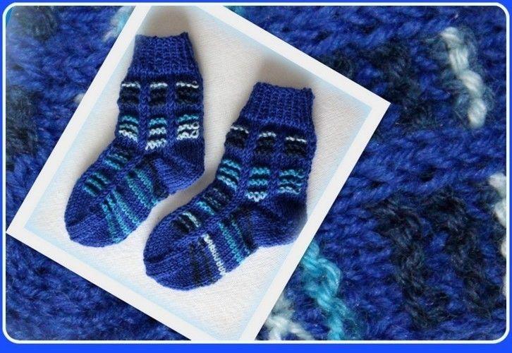Makerist - Warme Söckchen fürs Baby - Strickprojekte - 1