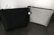 Makerist - Pochette/Trousse triangle en simili cuir - 1