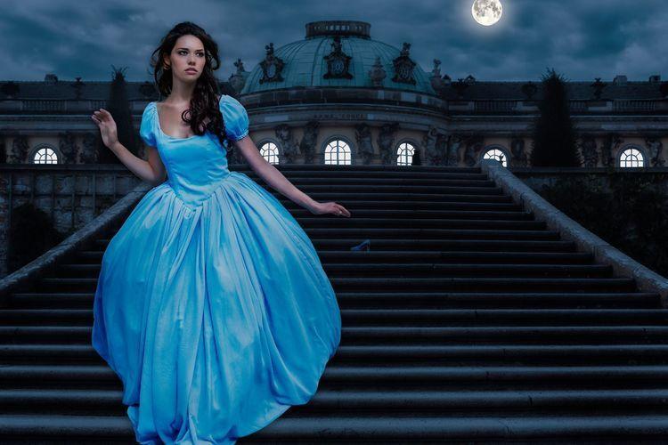 Makerist - Cinderella und Alice im Wunderland - Nähprojekte - 1