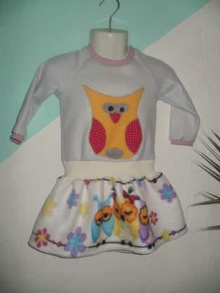 Makerist - Winterkleid aus Fleece für K. - 1