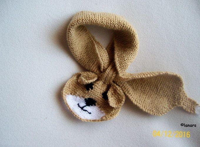 Makerist - Babyschal 'Hund' - Strickprojekte - 1
