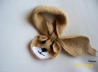 Makerist - Babyschal 'Hund' - 1