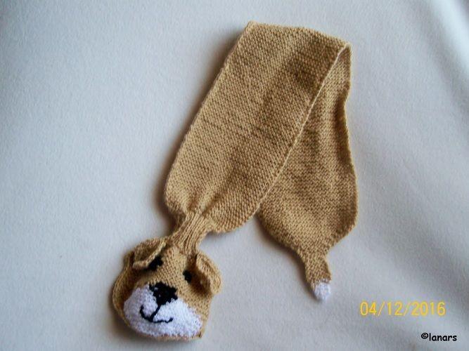 Makerist - Babyschal 'Hund' - Strickprojekte - 3