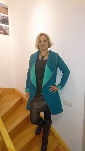 Makerist - Chill Jacke von Leni Pepunkt mit großem Kragen (eigenes Schnittmuster) - Nähprojekte - 1