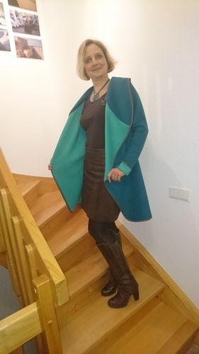 Makerist - Chill Jacke von Leni Pepunkt mit großem Kragen (eigenes Schnittmuster) - Nähprojekte - 2