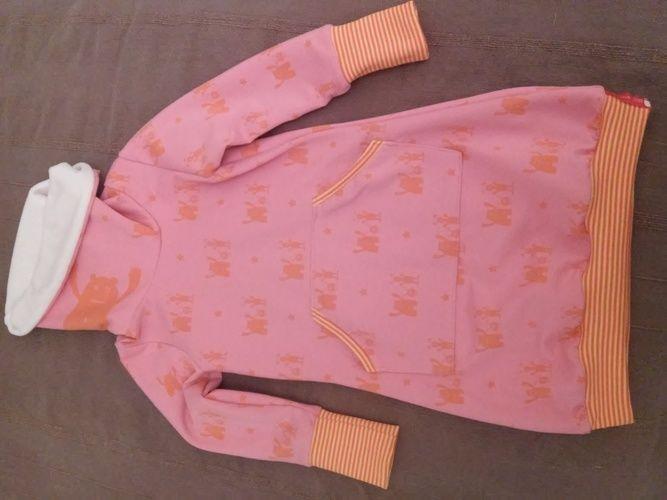 Makerist - Kuschliges Winterkleid aus Sweat und Nicki - Nähprojekte - 1