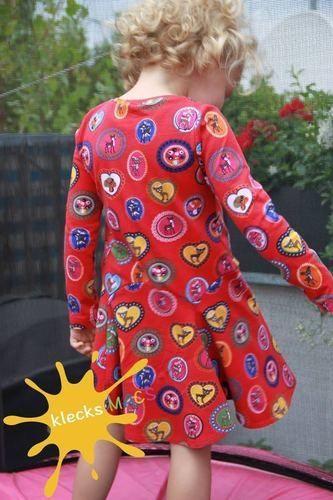 Makerist - Mädchenkleid klecksMACS *Bluebell* aus Jersey in Gr. 110 - Nähprojekte - 1