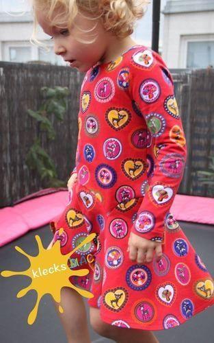 Makerist - Mädchenkleid klecksMACS *Bluebell* aus Jersey in Gr. 110 - Nähprojekte - 2