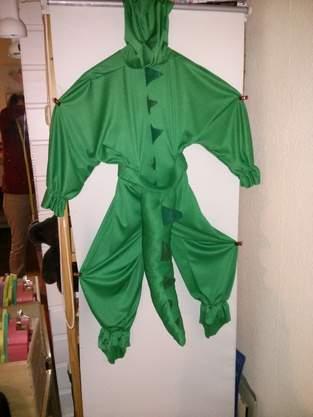 Makerist - Krokodil Faschings Kostüm - 1