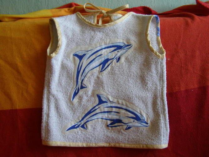 Makerist - Tablier bavoir pour enfant - Créations de couture - 1