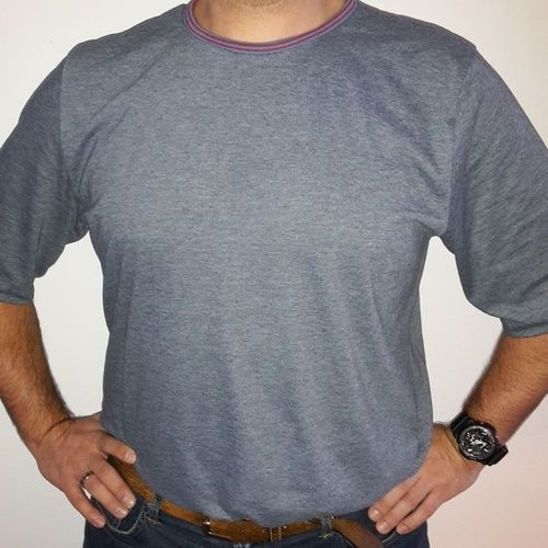 Makerist - Shirt Rio für Männer in blau - Nähprojekte - 1