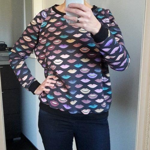Makerist - Sweatshirt Frau Mona - Nähprojekte - 1