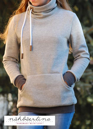 Makerist - BärlinerHoodie genäht von nähbäerlina - 1
