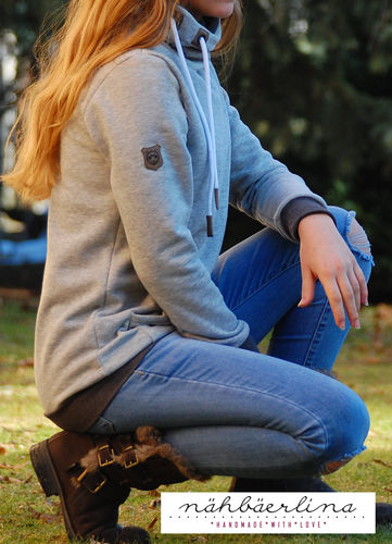 Makerist - BärlinerHoodie genäht von nähbäerlina - Nähprojekte - 2
