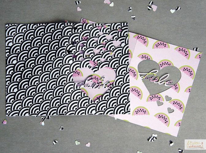 Makerist - geplottete Liebesgrüße - DIY-Projekte - 1