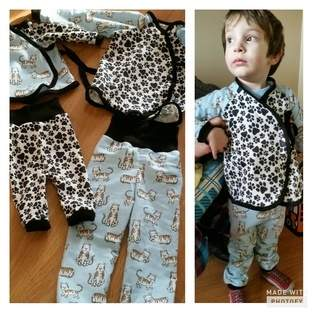 Makerist - Jammies for my boys  - 1