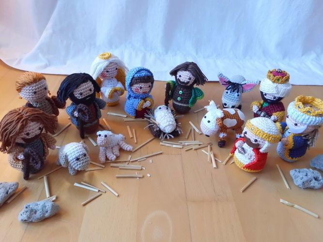 Makerist - an der Weihnachtskrippe - Häkelprojekte - 1
