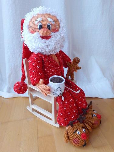 Makerist - Weihnachtsmann - Häkelprojekte - 1