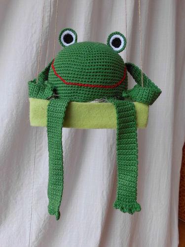 Makerist - Kantenhocker-Frosch - Häkelprojekte - 1