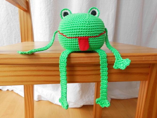 Makerist - Kantenhocker-Frosch - Häkelprojekte - 2