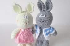 Makerist - Harry and Hatty Hare - 1
