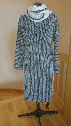 Makerist - Winterkleid aus Strech Bouclé - Nähprojekte - 1