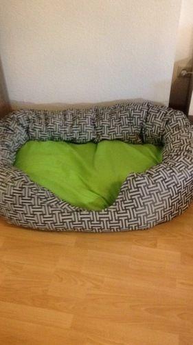 Makerist - Großes Hundebett  - Nähprojekte - 1