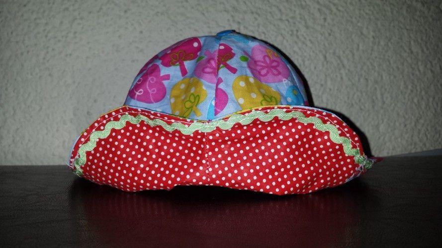 Makerist - Sommerhut für Mädchen - Nähprojekte - 3