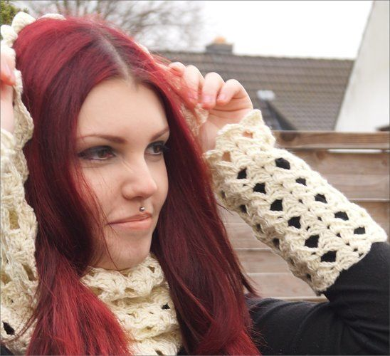 Makerist - Harmonie Cowl und Stulpen - Häkelprojekte - 3