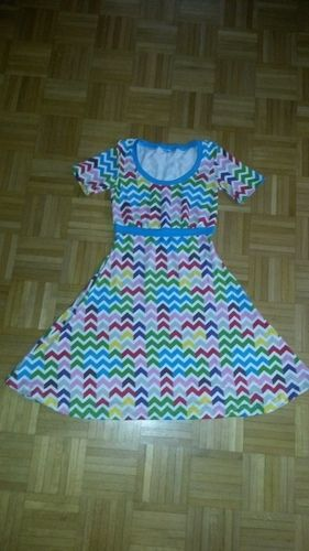Makerist - Sommerswing-Kleid aus Jersey für mich :) - Nähprojekte - 1
