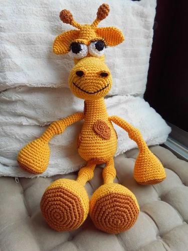 Makerist - Giraffa Giraffa von Schreber (-garten) ;-) - Häkelprojekte - 1
