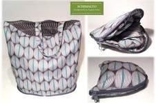 Makerist - Faltbarer Einkaufsbeutel mit Reißverschluss für unterwegs - 1