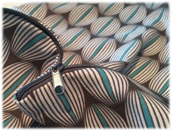 Makerist - Faltbarer Einkaufsbeutel mit Reißverschluss für unterwegs - Nähprojekte - 2