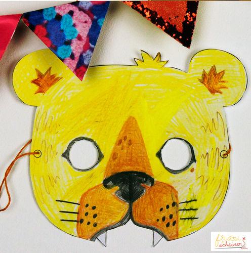 Makerist - Tigermaske - DIY-Projekte - 1