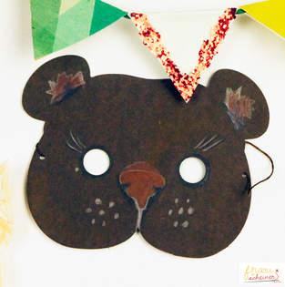 Makerist - Bären Maske zum Selbermachen - 1