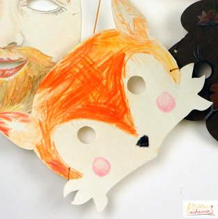 Makerist - Fuchs Maske - 1