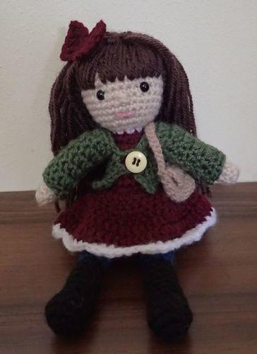 Makerist - Janice the January Doll - Crochet Showcase - 2