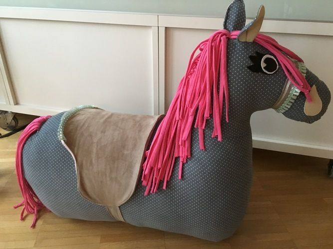 Makerist - Rutschpferd als Geschenk für meine Nichte - Nähprojekte - 2
