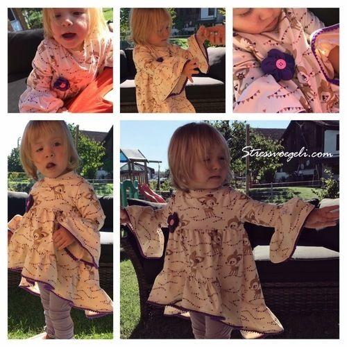Makerist - Valessia von Schnittgeflüster aus Jersey für das Tochterkind - Nähprojekte - 1