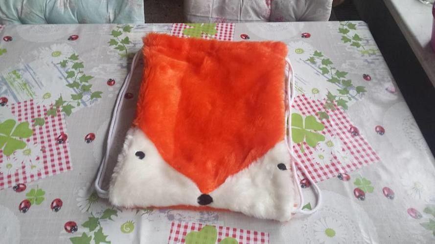 """Makerist - Rucksack """" Fuchs"""" , aus Fleecestoff genäht, für meine Tochter und Enkelin - Nähprojekte - 1"""