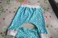 Makerist - Pumphose und Halstuch aus Jersey für meine Enkelin - 1
