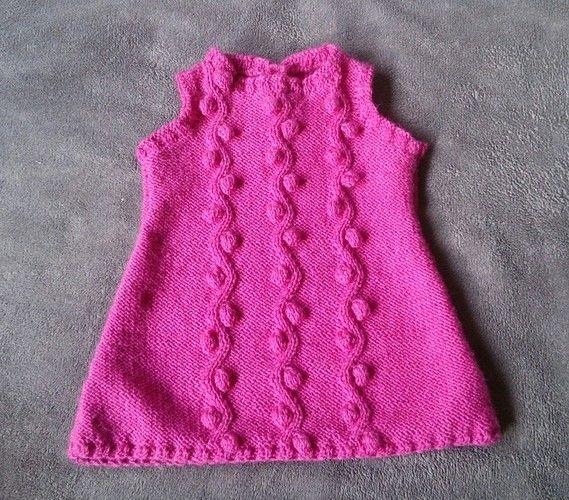 Makerist - Süßes Kleidchen für kleine Prinzessinen - Strickprojekte - 1