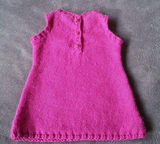 Makerist - Süßes Kleidchen für kleine Prinzessinen - Strickprojekte - 2
