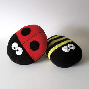 Makerist - Ladybird and Bee Cushions - 1